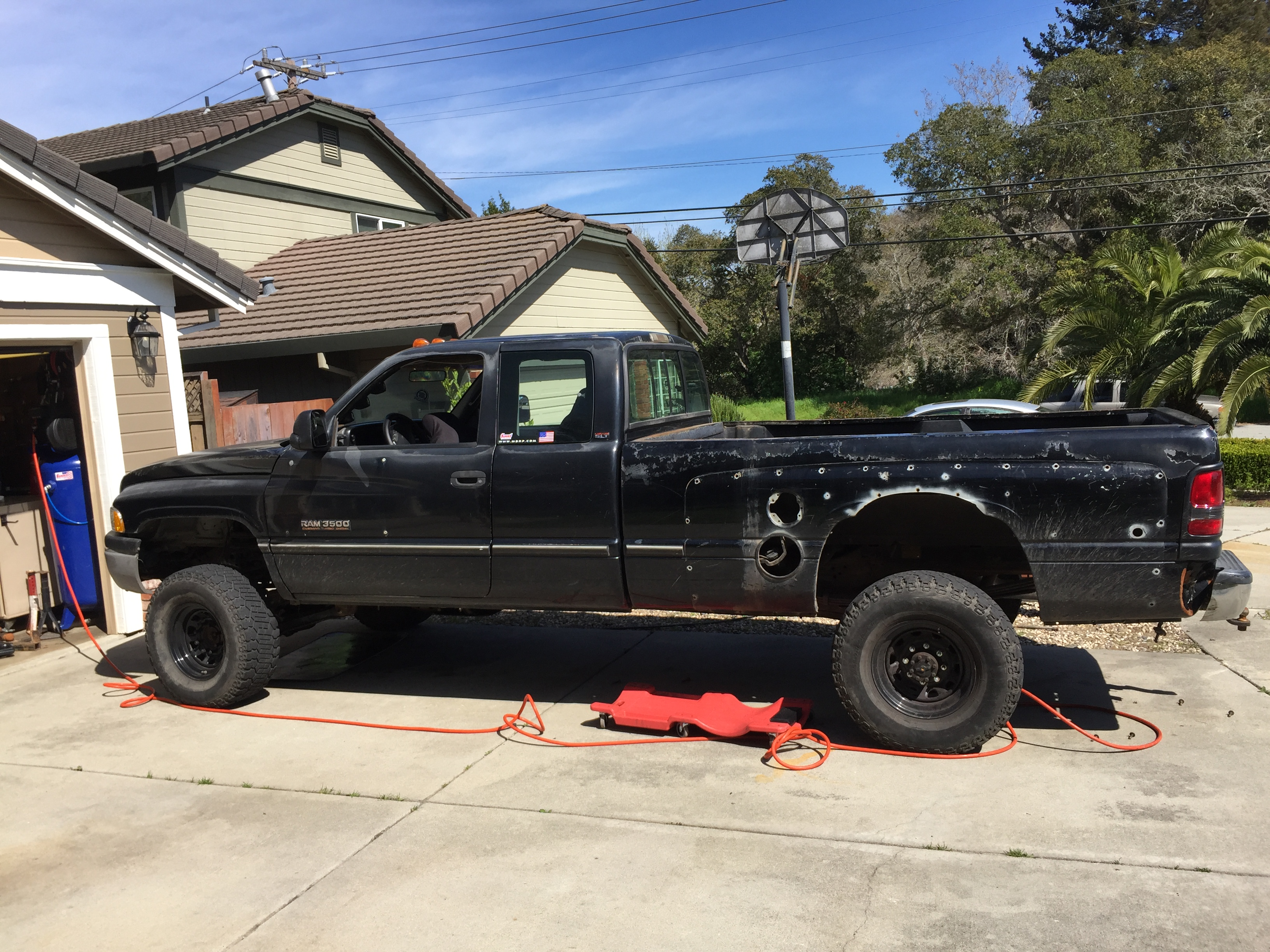 96 dodge flatbed build Pirate4x4 4x4 and f Road Forum